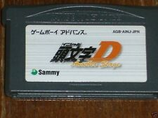 INITIAL D Another Stage Gameboy Advance GBA Japan 11