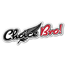 Choice Bro Silver Fern Sticker New Zealand NZ Kiwi Car Fern Decal