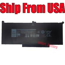 New listing Replace F3Ygt Battery 7.6V 60Wh for Dell Latitude 12 7000 7280 7480 Dm6Wc 2X39G