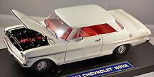 Chevrolet Nova SS Serie 400 Chevy II Coupé 1963 blanco blanco 1:18 SUN STAR