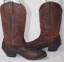 DURANGO BROWN COWBOY BOOTS BROWN LEATHER BOOTS SIZE 7 M