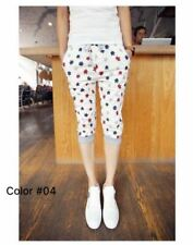 Men's Wear 3D Full Print Mixed Cotton Shorts - White Short with Maple Leaf Print