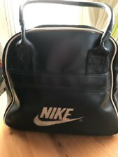 Vintage Nike Bag Holdall Handbag Carry On Luggage Travel Weekend Duffel Duffle