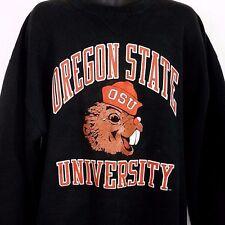 Oregon State Beavers Sweatshirt Vtg 80s 90s Crewneck Made In USA Mens Size 2XL