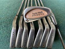 TaylorMade Burner Oversize Iron Set - RH, 3-PW, TT Dynalite W/Stiff Flex - WOW!!