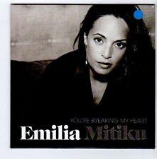 (FA638) Emilia Mitiku, You're Breaking My Heart - 2013 DJ CD
