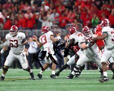 Tua Tagovailoa Alabama Football Signed 8X10 Photo Rp THE PASS Beat Georgia OT