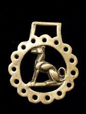 Vintage Horse Brass Tack - Martingale Dog