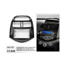 2 Din Stereo Fascia Dash Mount Trim Kit For Chevrolet Spark 11-13 Daewoo Martiz