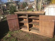 Primitive Farm House Wood Jelly Cupboard Pantry Kitchen  Cabinet  Farm Fresh