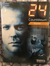 24 Countdown Board Game Hit TV Show Jack Bauer 20th Century Fox 2006