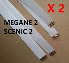 2 cables plano FFC para contactor de volante AirBag Renault Megane 2 Scenic 2