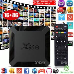 X96Q Android 10.0 Quad Core DE Smart TV BOX Network HDMI2.0 USB Media Player