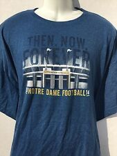 Notre Dame Football 2014 Irish Tradition T-Shirt 3XL THE SHIRT 25 Years new NWOT