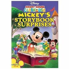 Mickey Mouse Clubhouse Storybook Surprises DVD - SHIPS IN 1 BUSINESS DAY Disney