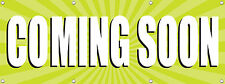 96in X 36in Coming Soon 8X3 Ft Banner, New Business Opening Sign Multi Color