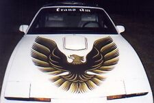 82-92 Firebird/Trans Am 70-81 Style Large Hood Bird Decal Red