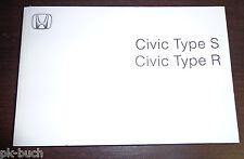Manual de instruções Honda Civic 8. Generation Type S / Type R  2009