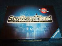 SCOTLAND YARD-- FAMILY DETECTIVE BOARD GAME BY RAVENSBURGER 1996
