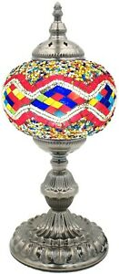 Mosaic Table Lamp Turkish Desk Lamp Bedside Lamp Night Lamp Gift Lamp Lampshade