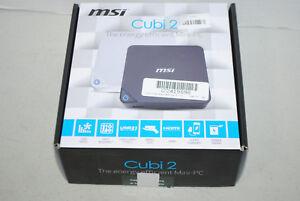 Cubi 2 Intel i5-7200U DDR4 mSATA HDMI Wifi Bluetooth SFF Barebone Cubi2-006BUS
