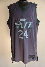 e0b71dc4e Adidas PAUL MILLSAP  24 Utah Jazz Jersey Rare Gray Men Size 2XL NWOT