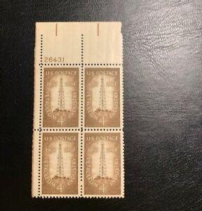 1959 4c Petroleum Industry block 4, Scott 1134 MNH OG