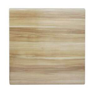 New Dining Table Top Square Outdoor 700mm Commercial Cafe Bar Blackbutt