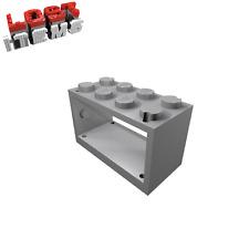4 x [nuevo] lego carcasa 2 x 4 x 2 para hilo carrete-gris claro - 4209