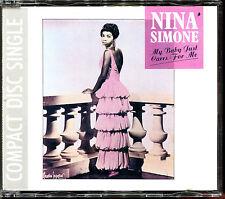 NINA SIMONE - MY BABY JUST CARES FOR ME - 1988 ORIGINAL MAXI CD [655]