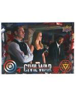 2016 Upper Deck Captain America Civil War Red Foil Parallel Card #33 UD 74/100
