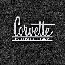 LLOYD Classic Loop™ embroidered logo FLOOR MATS 1966-1967 Corvette Sting Ray