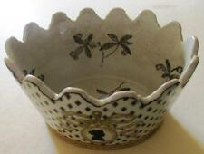 Unmarked Date-Lined Ceramic Bowls