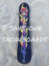 "1993 / 1994 Vintage Lib Tech ACME flowertop snowboard 4'12"" jamie lynn sorcerer"