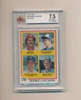 1978 Topps #708 Dale Murphy Lance Parrish Rookie Catchers BVG 7.5