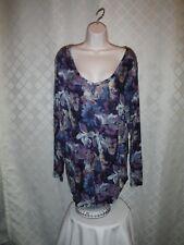 Size Plus Long Sleeve Blouses Simply Vera Vera Wang 3X,2X,1X,0X,Multi Color NWT
