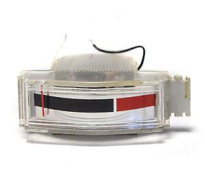 Bertram Einbau-Instrument, 14 x 35 mm, 200 µA, VU-Meter / Tonband Aussteuerung
