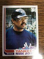 1982 Topps Set Break #300 Reggie Jackson Near Mint New York Yankees