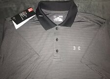 Under Armour Heat Gear Loose Release Golf Polo Black Xl