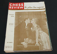 Vtg Chess Life Magazine 1952 all 12 issues lot US Chess Federation