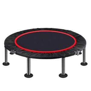 Mini Trampoline for Adults, Rebounder Trampoline Indoor Trampoline for Home Gym