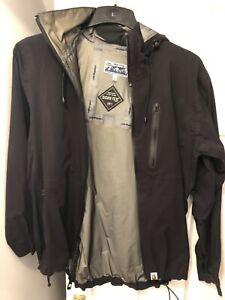 Bape A Bathing Ape Black Gore-tex Coat Jacket Medium