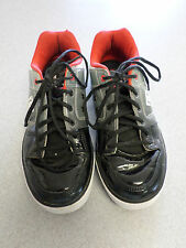 DC Shoes black, gray and red patent leather skateboard shoes. Men's 10 (eur 43)