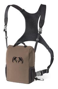 Kuiu Hunting Camo Bino Harness Binocular Chest Shoulder Rig Major Brown XL