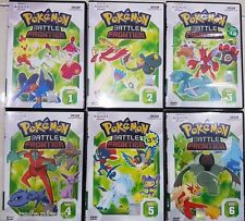 DVD English Language Pokemon (Season 9): Battle Frontier (1 - 47End)  6 DVD Set