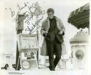 STEVE McQUEEN Signed 'BULLITT' Photograph - Film Star Actor - preprint