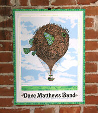 Dave Matthews Band Poster 2015 Xfinity Center Mansfield MA Signed A/P Version