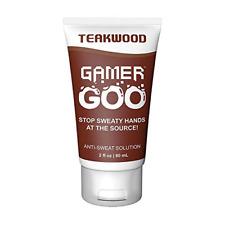 Gamer Goo Antiperspirant Dry Grip for Sweaty Hands – – Anti Sweat Hand Lotion