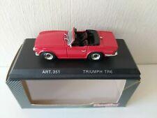 Corgi Detail Cars 1/43 Triumph TR6 Spider - Red - 1969 - ART. 351