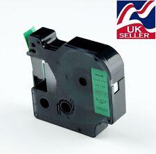 1 x D1 Nastro Cartuccia 45019 Nero/Verde 12mmx7m per stampanti DYMO LABEL MANAGER
